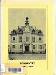 Commentry, première municipalité socialiste du monde : un centenaire / Georges Rougeron | Rougeron, Georges