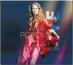 Live for live / Ana Popovic, guitare, chant | Popovic, Ana. Musicien. Chanteur
