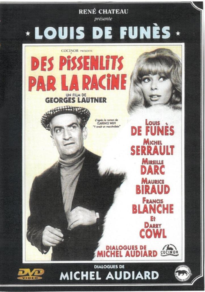 Des Pissenlits par la racine / réalisé par Georges Lautner |