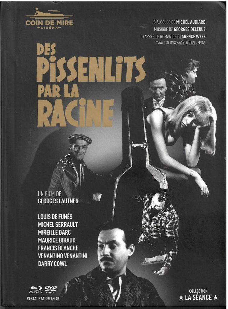 Des Pissenlits par la racine / réalisé par Georges Lautner  