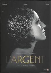 L'Argent / réalisé par Marcel L'Herbier   L'Herbier, Marcel. Monteur. Scénariste