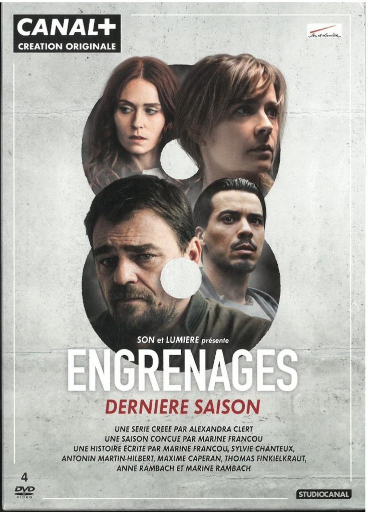 Engrenages : saison 8 / série créée par Alexandra Clert |